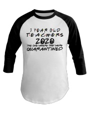 3 YEAR OLD TEACHERS Baseball Tee tile
