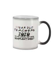 3 YEAR OLD TEACHERS Color Changing Mug tile