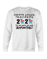 4TH GRADE TEACHER Crewneck Sweatshirt thumbnail