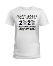 4TH GRADE TEACHER Ladies T-Shirt thumbnail