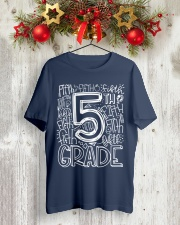 FIFTH GRADE Classic T-Shirt lifestyle-holiday-crewneck-front-2