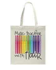 MUSIC TEACHER WITH FLAIR Tote Bag thumbnail