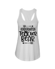 KINDERGARTEN TEACHER BEAR Ladies Flowy Tank thumbnail