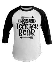 KINDERGARTEN TEACHER BEAR Baseball Tee thumbnail