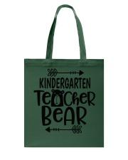 KINDERGARTEN TEACHER BEAR Tote Bag thumbnail