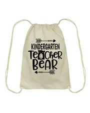 KINDERGARTEN TEACHER BEAR Drawstring Bag thumbnail