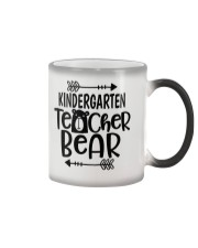 KINDERGARTEN TEACHER BEAR Color Changing Mug thumbnail