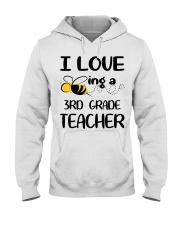 BEING 3RD GRADE TEACHER Hooded Sweatshirt thumbnail