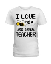 BEING 3RD GRADE TEACHER Ladies T-Shirt thumbnail