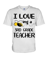 BEING 3RD GRADE TEACHER V-Neck T-Shirt thumbnail