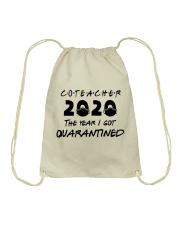 CO-TEACHER Drawstring Bag thumbnail