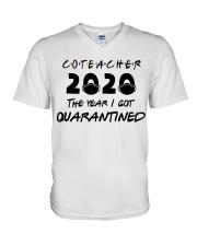 CO-TEACHER V-Neck T-Shirt thumbnail