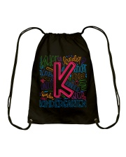 TYPO KINDERGARTEN TEE Drawstring Bag thumbnail