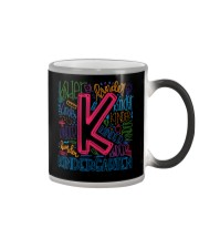 TYPO KINDERGARTEN TEE Color Changing Mug thumbnail