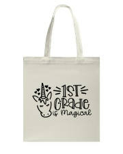 FIRST GRADE IS MAGICAL Tote Bag thumbnail