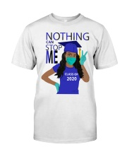 ROYAL BLUE - NOTHING CAN STOP ME Classic T-Shirt front