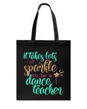 DANCE TEACHER Tote Bag thumbnail