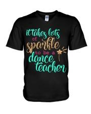 DANCE TEACHER V-Neck T-Shirt thumbnail