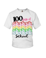 100 DAYS OF SK SCHOOL Youth T-Shirt thumbnail