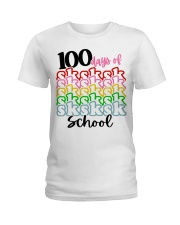 100 DAYS OF SK SCHOOL Ladies T-Shirt thumbnail