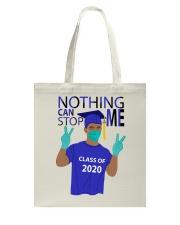 ROYAL BLUE - NOTHING CAN STOP ME Tote Bag thumbnail