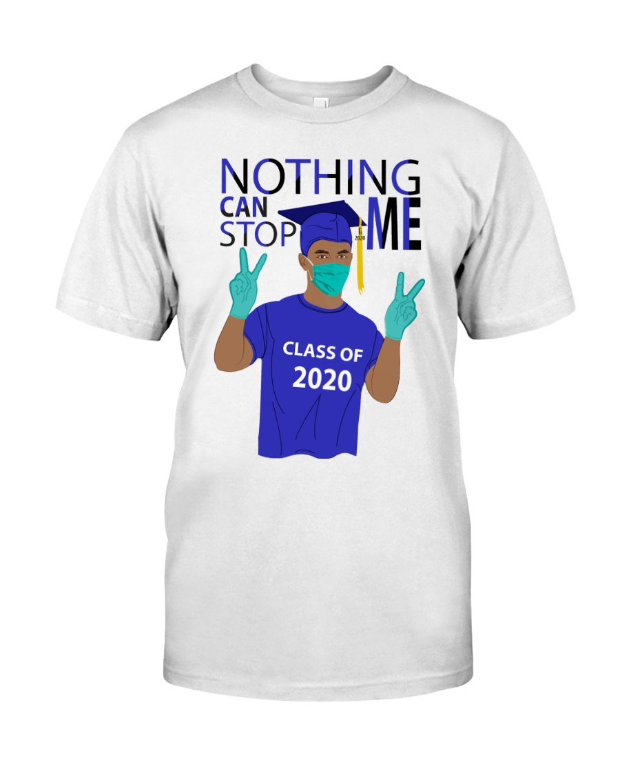 ROYAL BLUE - NOTHING CAN STOP ME Classic T-Shirt