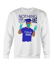 ROYAL BLUE - NOTHING CAN STOP ME Crewneck Sweatshirt thumbnail