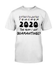 GT TEACHER Classic T-Shirt front