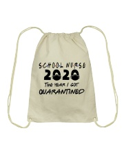 SCHOOL NURSE Drawstring Bag thumbnail