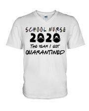 SCHOOL NURSE V-Neck T-Shirt thumbnail