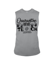 QUARANTINE AND TEACH Sleeveless Tee thumbnail
