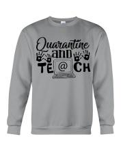 QUARANTINE AND TEACH Crewneck Sweatshirt thumbnail