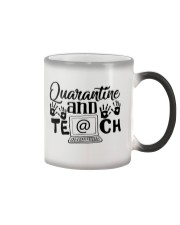 QUARANTINE AND TEACH Color Changing Mug thumbnail