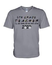5TH GRADE BE THERE V-Neck T-Shirt thumbnail