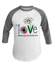 KINDERGARTEN TEACHER LIFE Baseball Tee thumbnail
