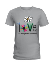 KINDERGARTEN TEACHER LIFE Ladies T-Shirt front