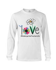 KINDERGARTEN TEACHER LIFE Long Sleeve Tee thumbnail