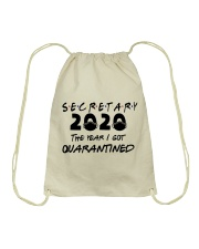 SECRETARY Drawstring Bag thumbnail