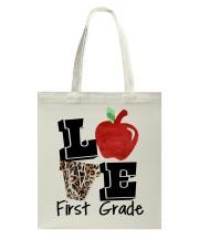 LOVE 1ST GRADE Tote Bag thumbnail