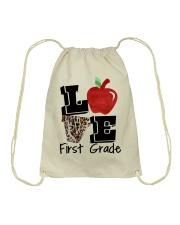 LOVE 1ST GRADE Drawstring Bag thumbnail