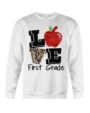 LOVE 1ST GRADE Crewneck Sweatshirt thumbnail