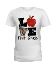 LOVE 1ST GRADE Ladies T-Shirt thumbnail