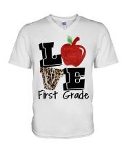 LOVE 1ST GRADE V-Neck T-Shirt thumbnail