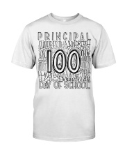 PRINCIPAL TYPO Classic T-Shirt front