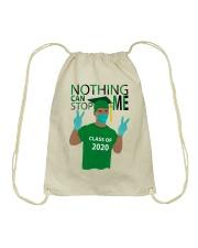 KELLY GREEN - NOTHING CAN STOP ME Drawstring Bag thumbnail