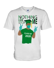 KELLY GREEN - NOTHING CAN STOP ME V-Neck T-Shirt thumbnail