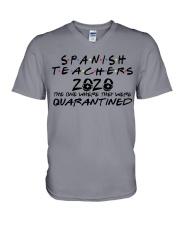 SPANISH TEACHERS V-Neck T-Shirt thumbnail