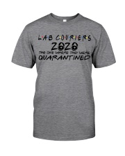 LAB COURIERS Classic T-Shirt front