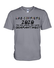 LAB COURIERS V-Neck T-Shirt thumbnail