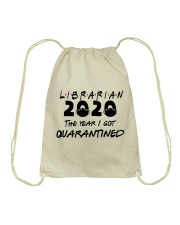 LIBRARIAN Drawstring Bag thumbnail